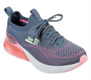 Pink Blue Skechers Skech-Air Stratus