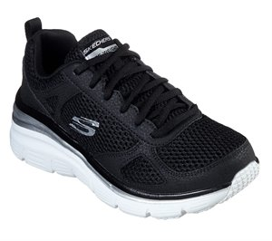White Black Skechers Fashion Fit - Perfect Mate