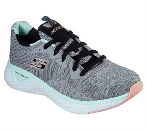 Multi Gray Skechers Solar Fuse - Brisk Escape