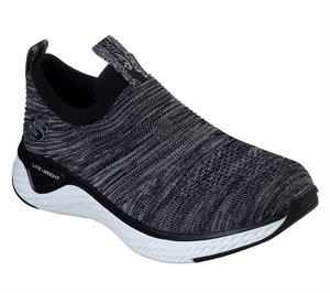 White Black Skechers Solar Fuse - Lite Joy