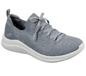 Gray Skechers Ultra Flex 2.0 - Flash Illusion