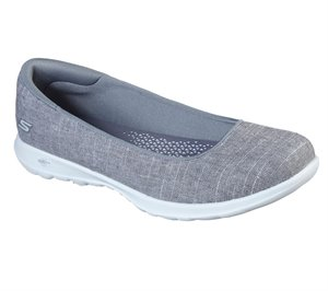 Gray Skechers Skechers GOwalk Lite - Susie - FINAL SALE