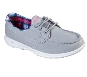 Gray Skechers Skechers GOwalk Lite - Sea Fun
