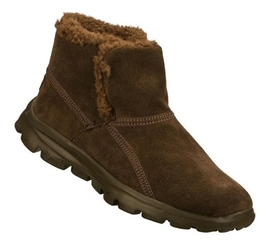 Skechers Go Walk Chugga bootie size 7 in brown