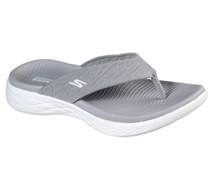 Gray Skechers Skechers On the GO 600 - Sunny - FINAL SALE