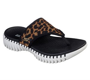 Brown Black Skechers Skechers GOwalk Smart - Wild Cat