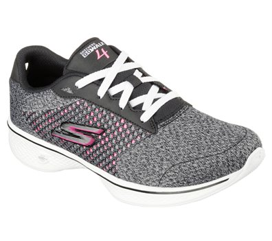 Details about Shoes Go Walk 4 Exceed Skechers Black Women 14146 BKHP