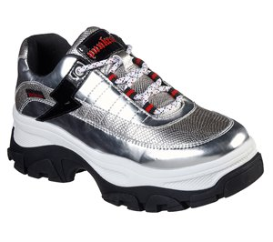 Silver Skechers Master - Silver Strike - FINAL SALE