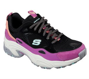Multi Black Skechers Stamina - Uphill Path