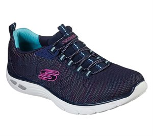 Multi Navy Skechers Relaxed Fit: Empire D'Lux - Dance Party