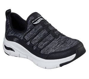 White Black Skechers Skechers Arch Fit - Rainbow View