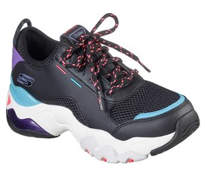 Multi Black Skechers D'Lites 3.0 Air - Sky Ceiling - FINAL SALE