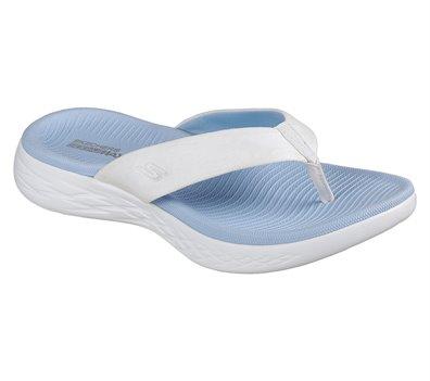 Blue White Skechers Skechers On the GO 600 - Polished