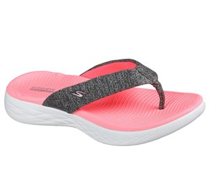 Pink Gray Skechers Skechers On the GO 600 - Preferred