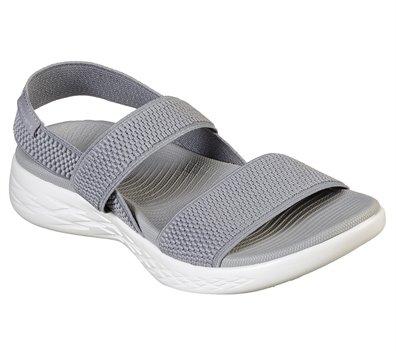 White Gray Skechers Skechers On the GO 600 - Flawless