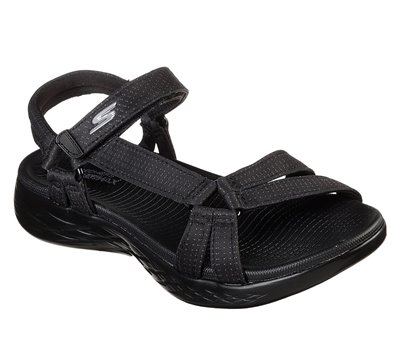 Black Skechers Skechers On the GO 600 - Brilliancy