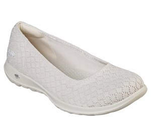 Natural Skechers Skechers GOwalk Lite - Loveable
