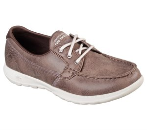 Brown Skechers Skechers GOwalk Lite - Mar Vista