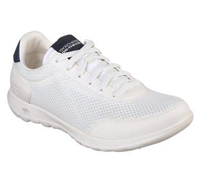 white skechers go walk