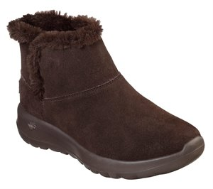 Brown Skechers Skechers On the GO Joy - Bundle Up