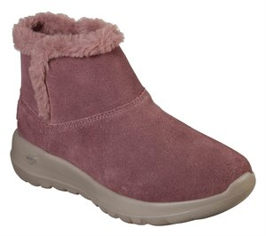 Pink Skechers Skechers On the GO Joy - Bundle Up
