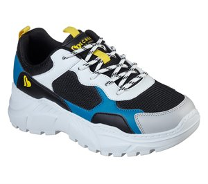 Yellow Black Skechers B-Rad - Street Hikes
