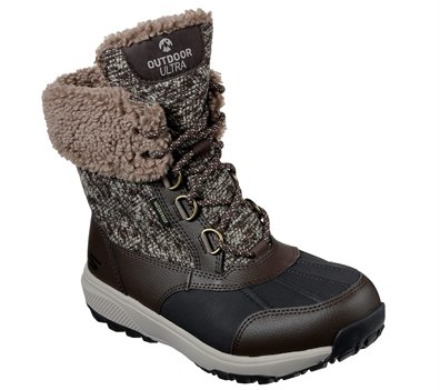 Brown Skechers Skechers On the GO Outdoors Ultra - Frost Bound