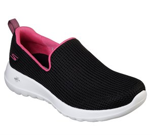 Pink Black Skechers Skechers GOwalk Joy - Centerpiece