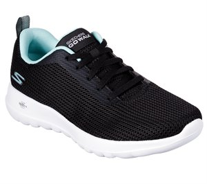 Blue Black Skechers Skechers GOwalk Joy - Upturn