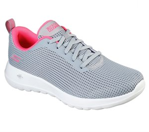 Pink Gray Skechers Skechers GOwalk Joy - Upturn