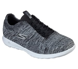 White Black Skechers Skechers GOwalk Lite - Dawn