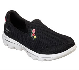 White Black Skechers Skechers GOwalk Evolution Ultra - Satisfaction