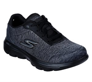 Black Skechers Skechers GOwalk Evolution Ultra