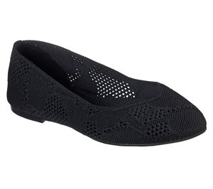 Black Skechers Cleo - Knitty City