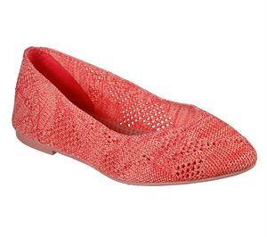 Coral Skechers Cleo - Knitty City