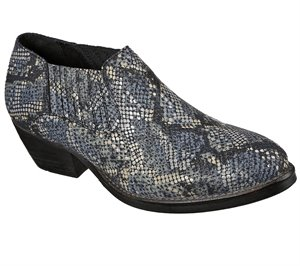 Gray Black Skechers Saddle Back - Bamboozled