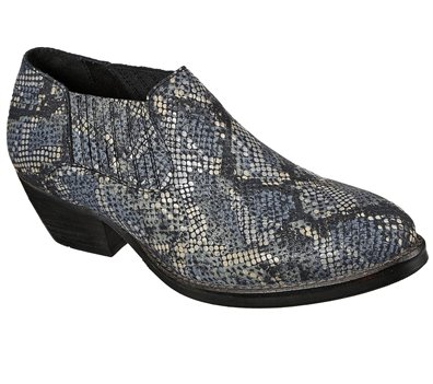 Gray Black Skechers Saddle Back - Bamboozled - FINAL SALE