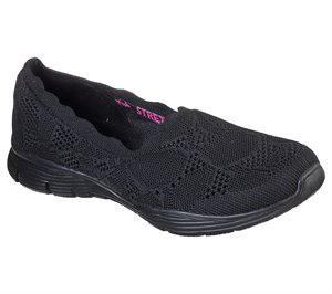 Black Skechers Seager - Bases Covered