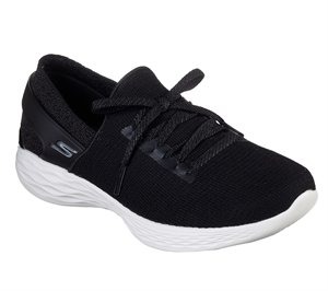 White Black Skechers YOU - Smile