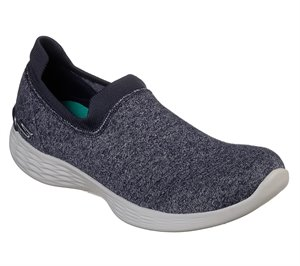 Gray Navy Skechers YOU Define - Perfection