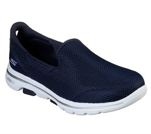 White Navy Skechers Skechers GOwalk 5