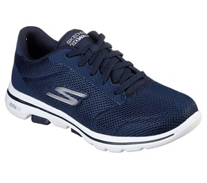 White Blue Skechers Skechers GOwalk 5 - Lucky