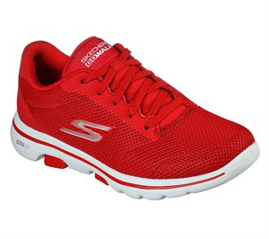 Red Skechers Skechers GOwalk 5 - Lucky
