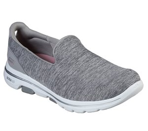 Gray Skechers Skechers GOwalk 5 - Honor