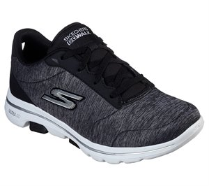 White Black Skechers Skechers GOwalk 5 - True