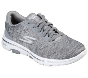 Gray Skechers Skechers GOwalk 5 - True
