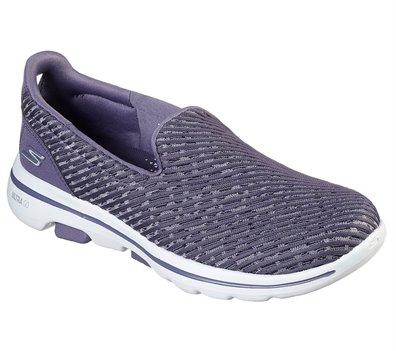 Purple Skechers Skechers GOwalk 5 - Miracle - FINAL SALE