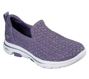 Purple Skechers Skechers GOwalk 5 - Brave