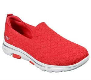 Red Skechers Skechers GOwalk 5 - Brave
