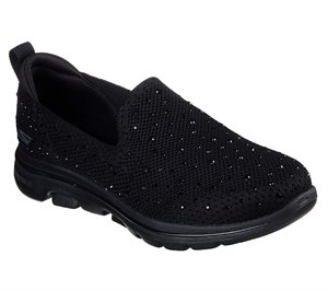 Black Skechers Skechers GOwalk 5 - Limelight